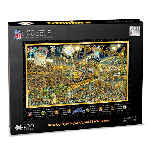 NFL Pittsburgh Steelers Joe Journeyman Puzzle - 500-piece
