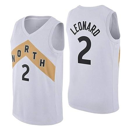 BALL-WHJ Camiseta para Hombre De La NBA Raptors 2# Leonard ...