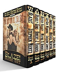 Blaze! Western Series: Six Adult Western Novels