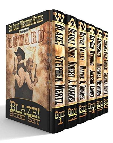 Blaze! Western Series: Six Adult Western -