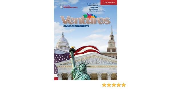 Ventures All Levels Civics Worksheets: K.Lynn Savage, Gretchen ...