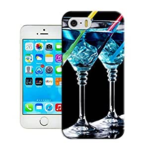 LarryToliver Customizable Cocktail glass For iphone 5/5s Cases