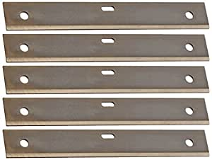 Hyde Tools 33170 Wallpaper Shaver and Scraper Replacement Blades, 4-Inch, 5-Pack