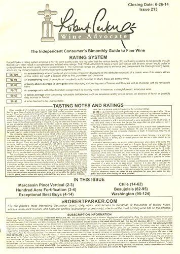 Robert Parker's Wine Advocate: Issue 213, June 2014