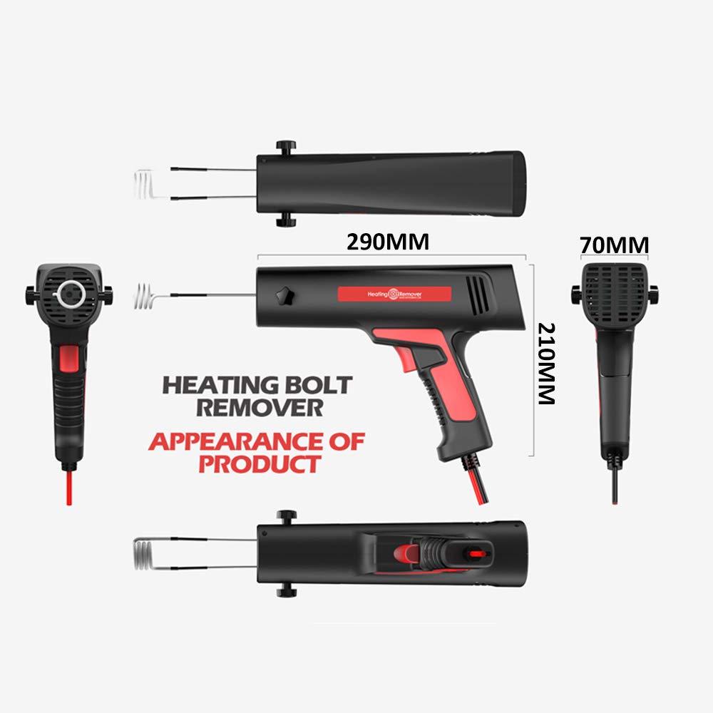 12V induction heater For Automotive Flameless Heat 500-900W uk rusty bolts woyo