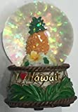 Snowglobe Pineapple Hawaiian Design