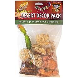 T-Rex Terra Accents Desert Decor Pack, 2, Multi-Color