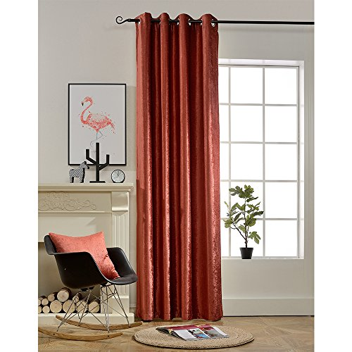 BOKO Natural Chenille Blackout Grommet Window Panel