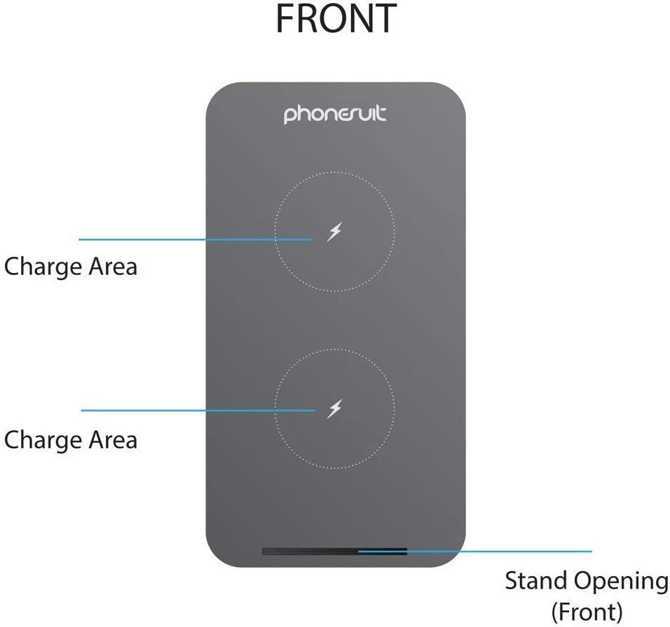 Ultra PhoneSuit Energy Core Wireless Qi Charging Pad 10W