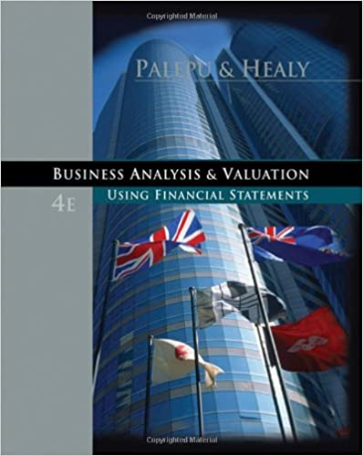 Business analysis and valuation using financial statements business analysis and valuation using financial statements 9780324302929 economics books amazon fandeluxe Gallery