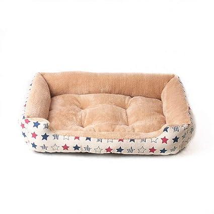 HenLooo Cama para Perros, Adecuada para Cachorros, 1 kg Perro, una no extraíble