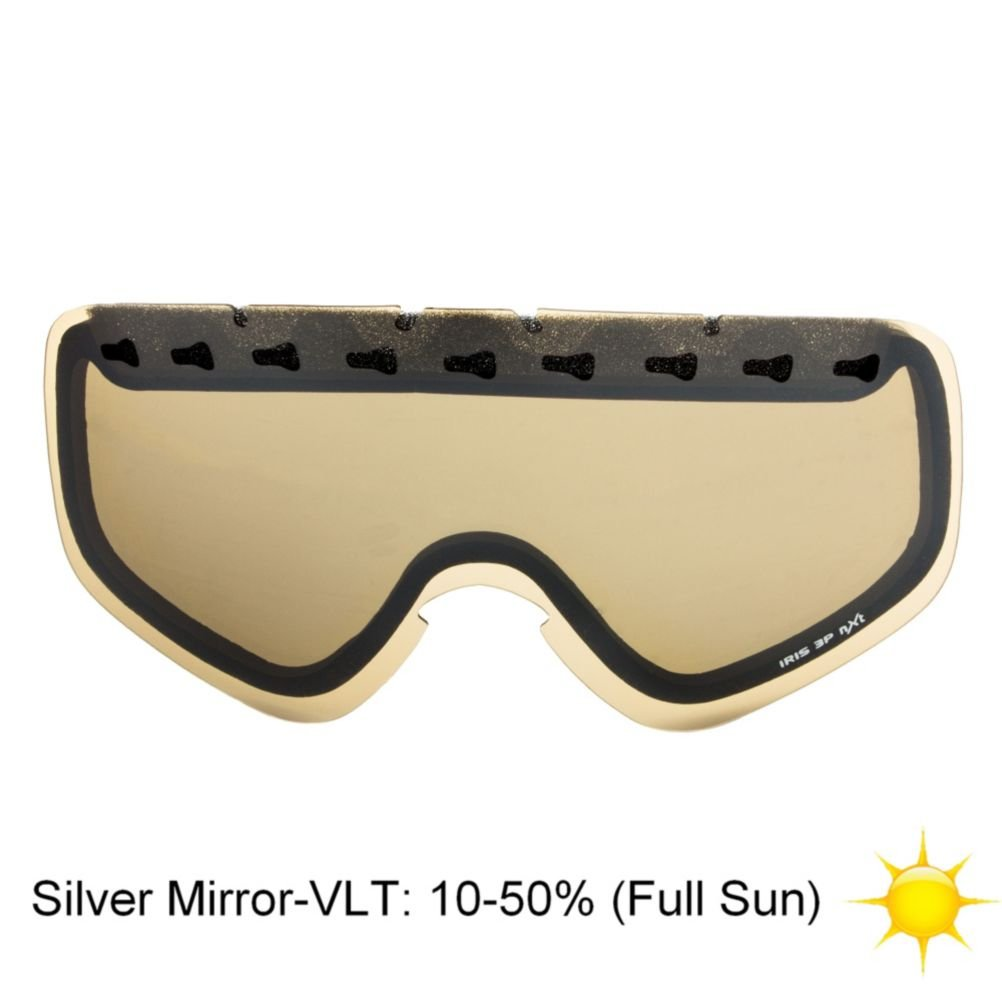 POC IRIS 3P NXT Photochromic Goggle Replacement Lens Full Sun Brown-Silver Mirror