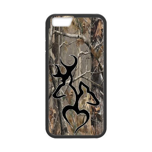 Iphone 6 Plus Cases - Custom Browning Camo Deer Hunter Cell Phone Case Protective Case For Apple Iphone 6 Plus 55 inch screen Cases High Quality PC Cover