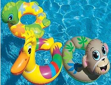 Amazon.com: Intex Animal flotante anillo bebé hinchable ...