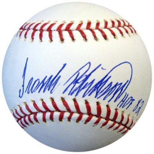 FRANK ROBINSON AUTOGRAPHED OFFICIAL MLB BASEBALL BALTIMORE ORIOLES\'HOF 82\' PSA/DNA STOCK #2903