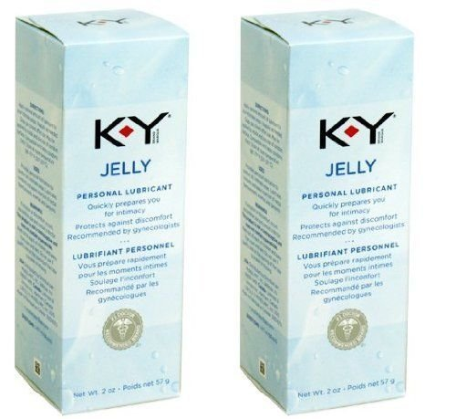 K-y Ky Jelly Personal Lubricant 2 Oz Tube Combo Pack (Pack of 2 (2 ct ea))