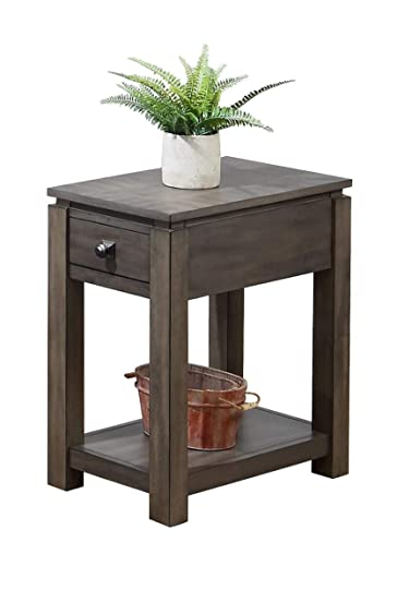 Sunset Trading Shades of Gray End Table