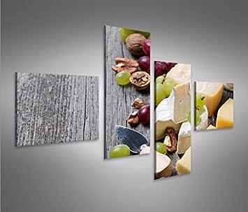 islandburner Bild Bilder auf Leinwand Käse V2 Küchenbild Küche 4L ...