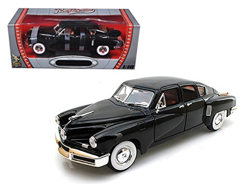 M & J/MiJo Exclusives Road Signature 82268bk 1948 Tucker Torpedo Black Limited Edition to 600 Piece 1-18 Diecast Model