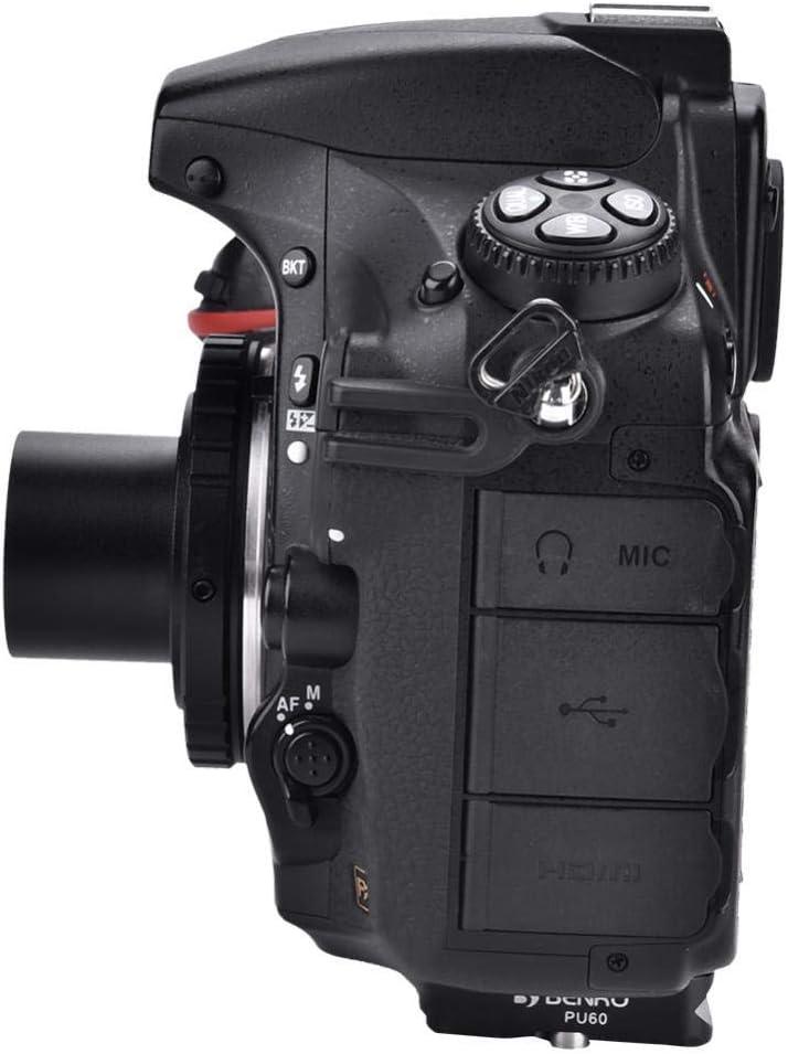 Adaptador T para cámara telescópica de 1,25 Pulgadas T2 con Anilla ...