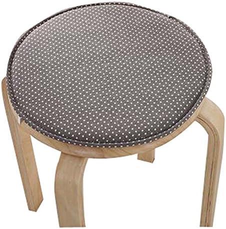 Black Temptation Creative Round Stool Cushion Warm Sponge Pad Bar Stool Mat