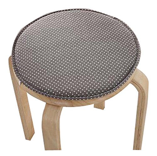 Creative Round Stool Cushion Warm Sponge Pad Bar Stool Mat by Black Temptation