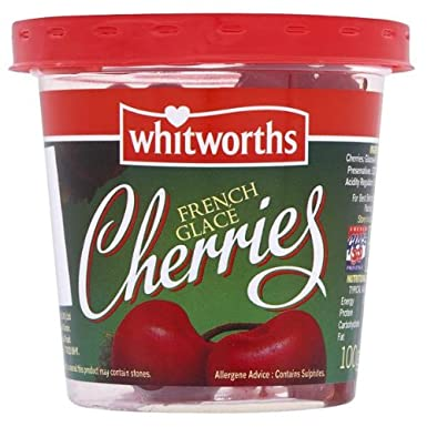 Whitworths French Glace Cherries 100g (Pack of 6 x 100g): Amazon co