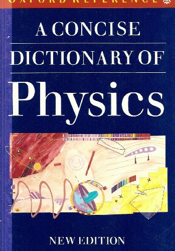 oxford dictionary of physics pdf
