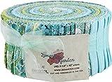 Liberty Garden Blue Pinwheel 40 2.5-inch Strips