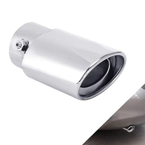 Amazon.com: Dsycar - Silenciador universal de tubo de escape ...