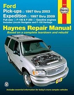 ford pick ups and expedition lincoln navigator automotive repair rh amazon com 2009 f150 repair manual pdf 2009 f150 repair manual pdf