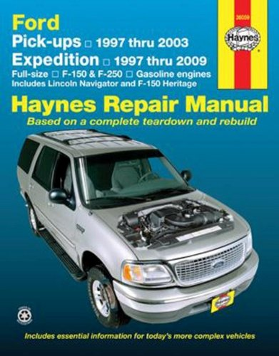 Ford Pick-ups and Expedition, Lincoln Navigator, Automotive Repair Manual