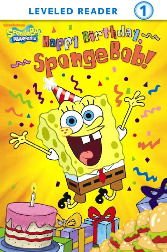 Happy Birthday SpongeBob SquarePants By Publishing Nickelodeon
