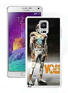 Tennessee Volunteers White Hard Plastic Samsung Galaxy Note 4 N910A N910T N910P N910V N910R4 Phone Cover Case