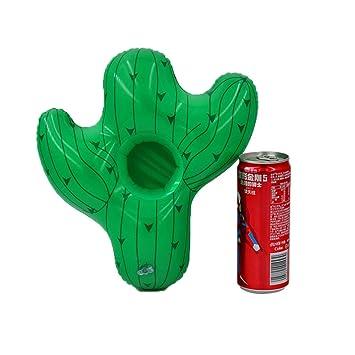 Ocamo Portavasos Flotante para Piscina en Forma de Cactus, portavasos, 5 Piezas / Paquete: Amazon.es: Juguetes y juegos