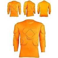 1a317bc03c8c1 Nuevo deporte de fútbol camiseta del equipo de fútbol para jóvenes GK  portero acolchada tapas camisa