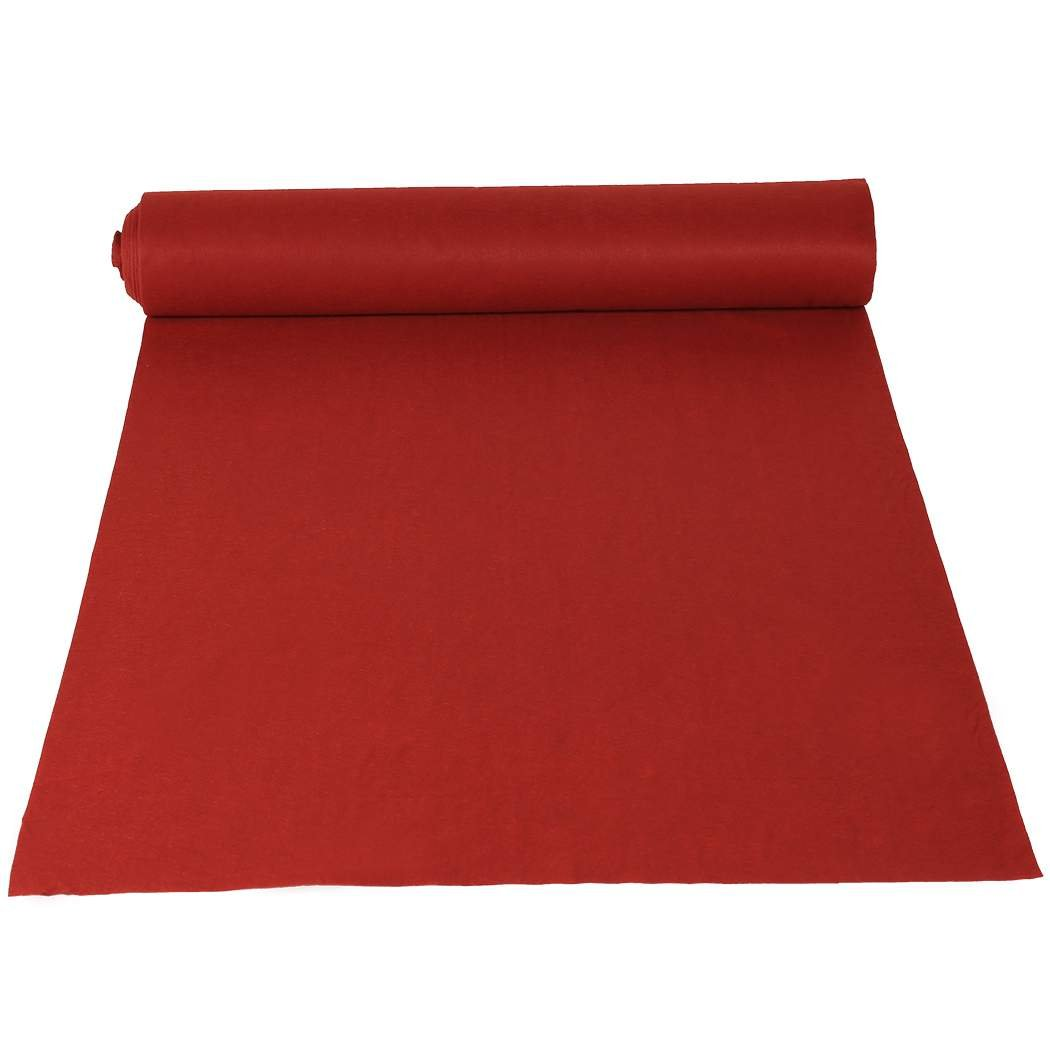 Amdirect Red Wedding Aisle Runner, 50-Feet by 3-Feet