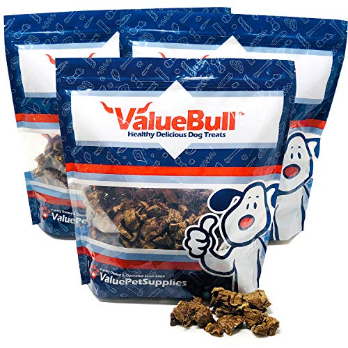 ValueBull USA Roasted Beef Lung Dog Chews, 3 Pounds from ValueBull