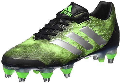 adidas adipower Kakari SG - Botas de rugby para Hombre, Negro - (NEGBAS/PLAMET/VERSOL) 40