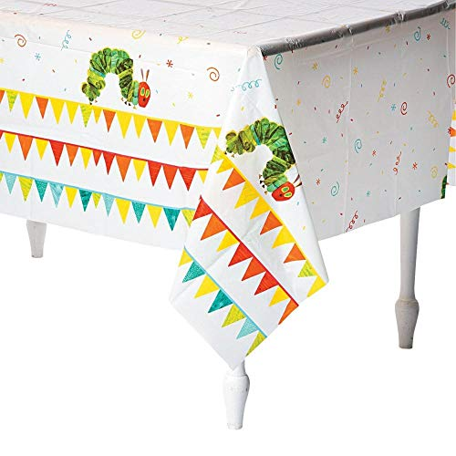 Eric Carle The Very Hungry Caterpillar Tablecloth Tablecover (1)]()