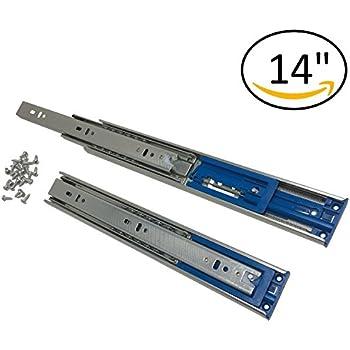 pandora soft close ball bearing drawer slides full extension 12 in