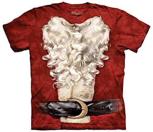 The Mountain Men's Santa Suit, Red, 4XL