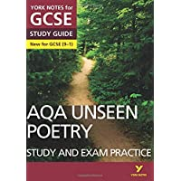 York Notes for GCSE (9-1): Unseen Poetry STUDY GUIDE - Everything you need to catch up, study and prepare for 2021…