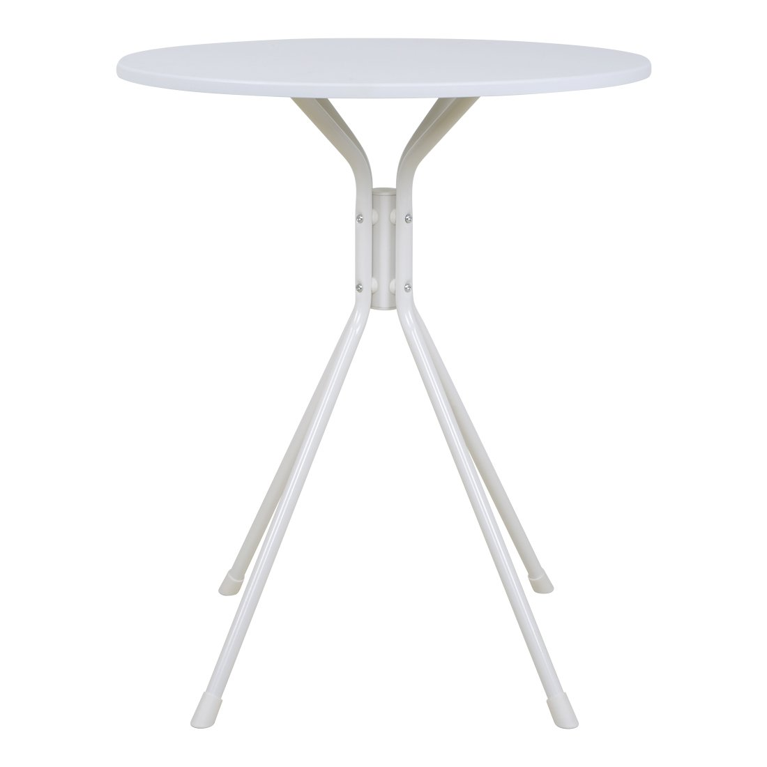 Funmall White Modern Round Table Tea Coffee Dining Living Room Furniture Home Decor with Splayed Leg Base by Funmall (Image #3)