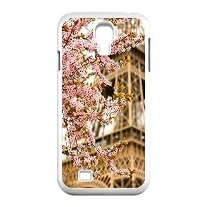 Flower Paris Customized Cover Case for SamSung Galaxy S4 I9500,custom phone case ygtg617564