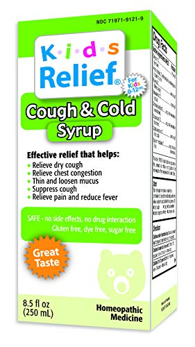 Relief Syrup Cold - Kids Relief Cough and Cold Syrup, 8.5 Fluid Ounce