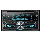 Kenwood Double-DIN In-Dash CD/MP3/USB Bluetooth AM/FM Car Stereo...
