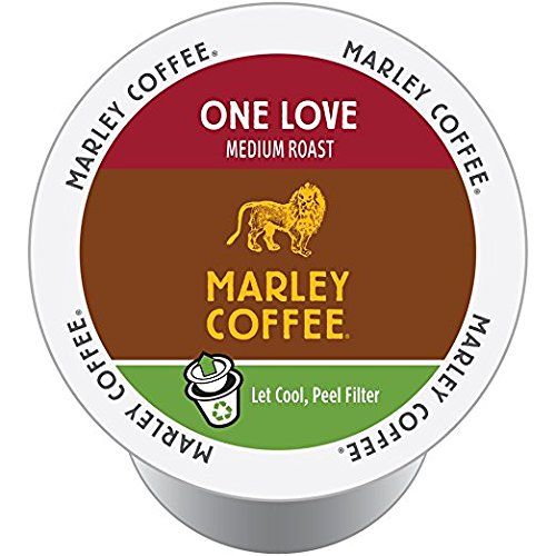 Marley Coffee One Love, Single Serve RealCup (96 Count)