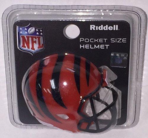 Cincinnati Bengals Riddell Speed Pocket Pro Football Helmet New in package