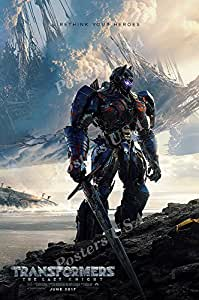 """Posters USA - Transformer the Last Knight Movie Poster GLOSSY FINISH - MOV624 (24"""" x 36"""" (61cm x 91.5cm))"""